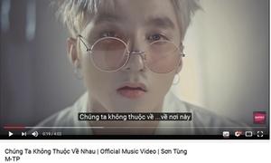 MV mới của Sơn Tùng vượt mặt 'We don't talk anymore' dù ra mắt cùng thời điểm
