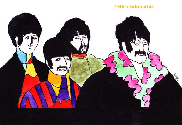 Yellow Submarine là bộ phim hoạt hình được sản xuất vào năm 1968 do đạo diễn George Dunning thực hiện với nhân vật chính là bộ tứ của nhóm nhạc huyền thoại The Beatles. Bộ phim kể về thiên đường Pepperland bị những con quái vật độc ác Blue Meany xâm chiếm. Fred được cử đi tìm những người anh hùng có tên là The Beatles để cứu hành tinh của mình trên một chiếc tàu ngầm màu vàng.