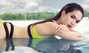 Ngọc Trinh sexy hết cỡ khi diện bikini giá rẻ của Kylie Jenner