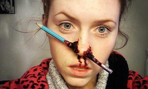 Cô gái có thể khiến bạn gặp ác mộng nhờ tài makeup