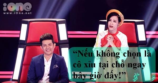 Trong phần dự thi của thí sinh Dạ Cổ Hoài Lang - Vũ Đàm Thùy Dung
