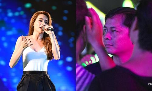 Chu Đăng Khoa lặng lẽ đến ủng hộ Hà Hồ tại một đêm diễn.