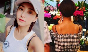 Sao Hàn 11/8: Bora vô tư để lộ dây áo lót, Hwang Jung Eum lưng xương xẩu