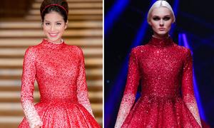 Phạm Hương bị nghi mặc váy nhái 'phiên bản lỗi'