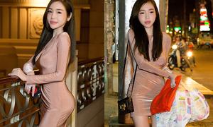 Elly Trần tất tả mua bỉm sữa cho con sau khi đi sự kiện