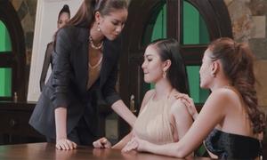 The Face tập 9: 'Chơi chiêu' chán chê, cuối cùng Phạm Hương cũng chỉ còn 1 người