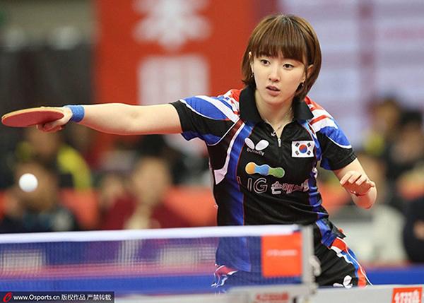 Seo Hyo Won là nữ vận động viên bóng bàn nổi tiếng ở Hàn Quốc. Cô không chỉ có gương mặt xinh đẹp mà biểu cảm trong trận đấu cũng rất dễ thương. Là dân thể thao, tuyển thủ bóng bàn này cũng có thân hình rất cân đối.