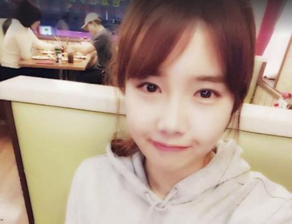 Trên sân đấu, Park Seung Ah rất mạnh mẽ nhưng ngoài đời Seung Ah đáng yêu như một hot girl.