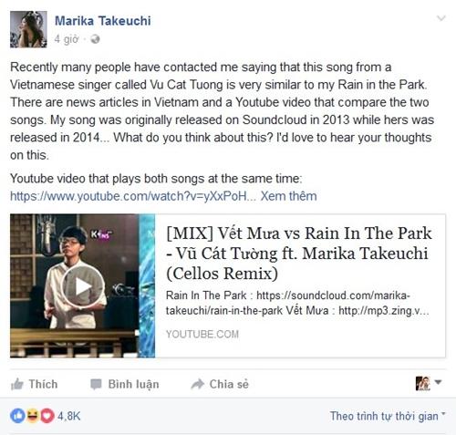 Nữ tác giả ca khúc Rain In The Park