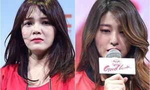 Seol Hyun, Ji Min được khen 'ăn đứt' Tiffany khi giải quyết scandal