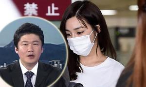 Tiffany bị MC truyền hình mỉa mai là nguyên nhân khiến Hàn Quốc thua ở Olympic