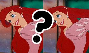 Tìm điểm khác nhau trong tranh Disney
