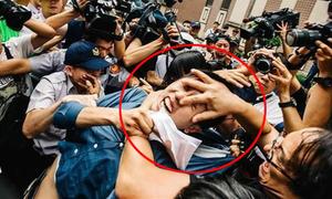 Thanh niên giết mèo dã man bị người dân vây đánh trước tòa án