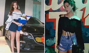 Sao Việt 19/8: Kelly tậu xế hộp mới, Quỳnh Anh Shyn gầy như 'que củi'