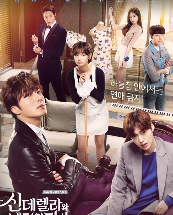 Lọ Lem và Tứ kỵ sĩ xoay quanh cuộc sống của cô gái nhà nghèoEun Ha Won (Park So Dam