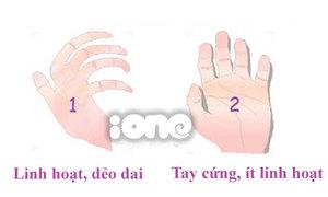 Độ linh hoạt của bàn tay tiết lộ bí mật về bạn