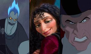 Nhận dạng nhân vật xấu xa trong Disney qua chiếc cằm