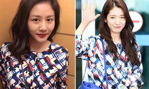 Sao style 23/8: Sa Lim sexy bất ngờ, Văn Mai Hương đụng áo Park Shin Hye