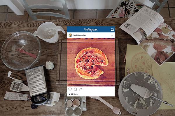 Những bức ảnh đẹp trên Instagram thường đã được cắt khỏi bối cảnh lộn xộn   xung quanh, chỉ giữ lại nét đẹp nhất.
