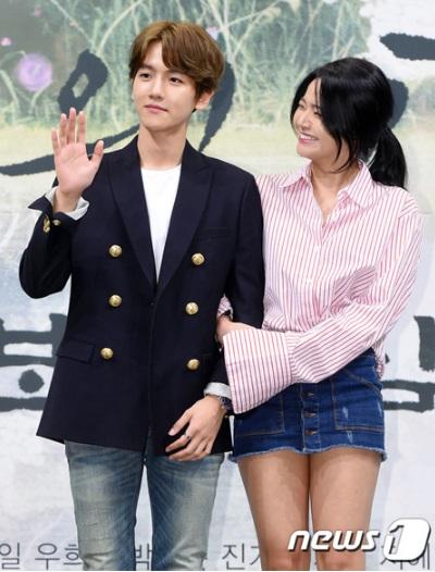 rong phim Baek Hyun vào vai người đã có vợ, có tuyến tình cảm với một diễn viên nữ.