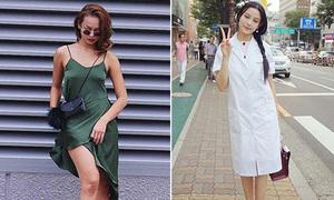 Sao style 24/8: Mai Ngô thả rông ngực, Huyền Baby như nữ sinh Hàn