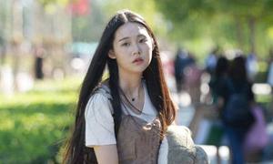 Nhan sắc nữ sinh trường nghệ thuật Trung Quốc ngày nhập học