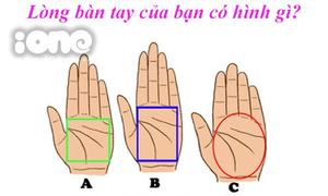 Hình dạng lòng bàn tay tiết lộ số mệnh của bạn