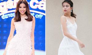 Sao style 1/9: Phạm Hương như búp bê Barbie, Hoàng Thùy Linh 'ngó lơ' nội y
