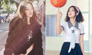 Sao Việt 5/9: Chi Pu mặc áo lông giữa trời nắng, Yến Chibi ngây thơ nữ sinh