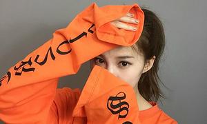Đầu thu, mẫu áo tay dài thượt hot từ Hàn sang Việt