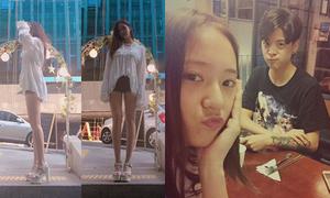 Sao Hàn 6/9: Krystal hẹn hò Amber, Hyo Min khoe chân dài ảo diệu