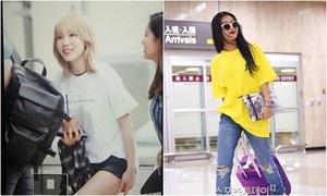 Kpop style 6/9: Tae Yeon tóc mái cute, Na Eun style mùa thu ấn tượng