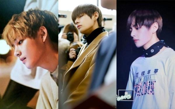 Góc mặt nghiêng của thành viên BTS cực hút máy ảnh, đây cũng là góc chụp đẹp nhất của nam ca sĩ.