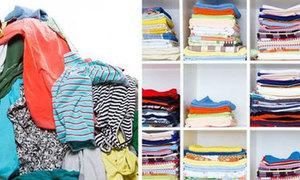 Bí kíp gấp quần áo gọn gàng từ A-Z đủ loại