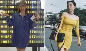 Sao style 7/9: Mai Ngô đi dép ở nhà ra sân bay, Tóc Tiên không lộ chút mỡ thừa