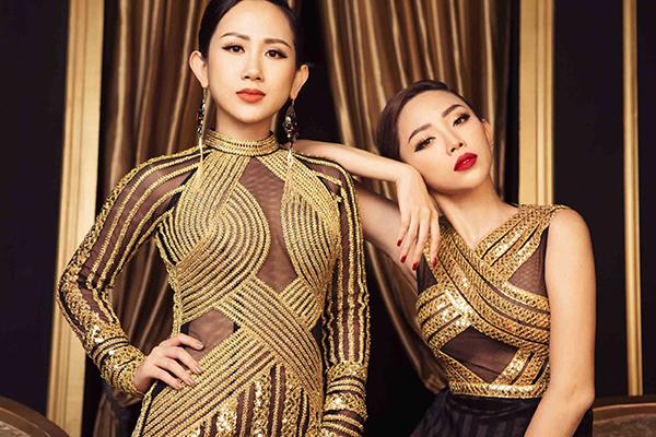 Dù không thường xuất hiện tại những bữa tiệc showbiz, nhưng fashionista Trâm Nguyễn và nữ ca sĩ Tóc Tiên lại là những người bạn thân từ nhiều năm nay.
