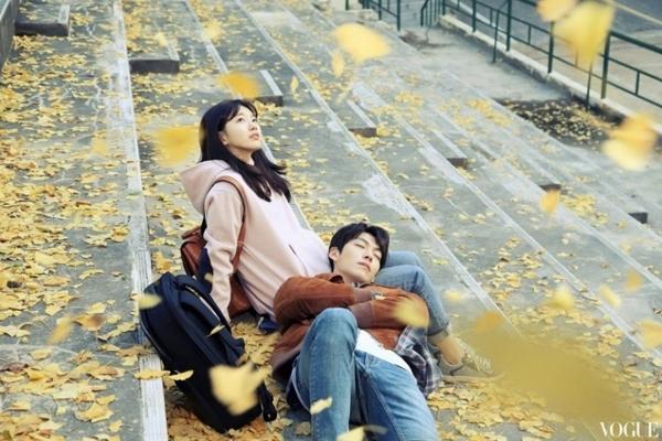Kim Woo Bin  Suzy đang là một trong những cặp đôi được quan tâm hàng đầu trên màn ảnh Hàn gần đây.