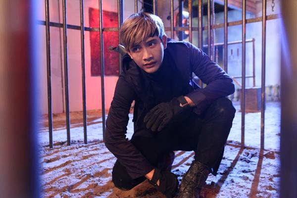 Lưu Quang Anh dành thời gian suốt 2 tháng để luyện tập võ thuật và các kỹ năng cascadeur để chuẩn bị cho các pha hành động trong bộ phim.