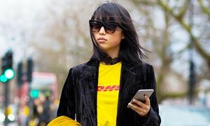 7 chiêu mix đồ đậm hơi thở high fashion quý cô New York