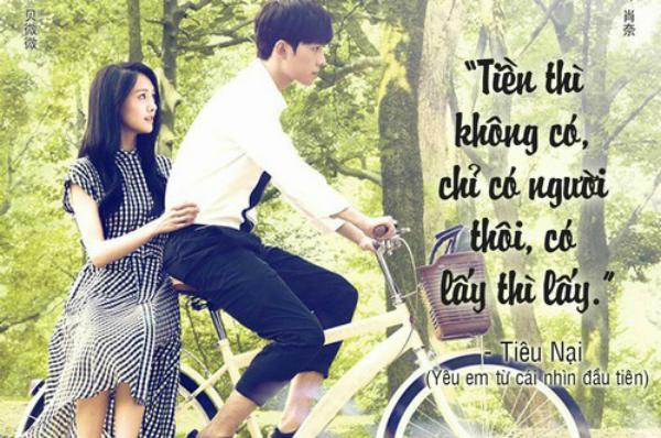 10 loi to tinh ngot nhu mia lui trong phim ngon tinh tq hinh anh 1
