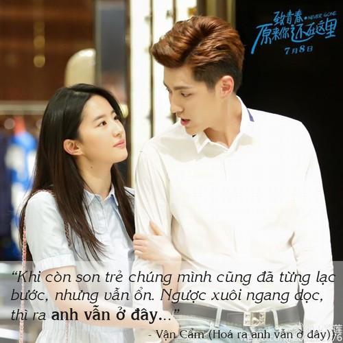 10 loi to tinh ngot nhu mia lui trong phim ngon tinh tq hinh anh 5
