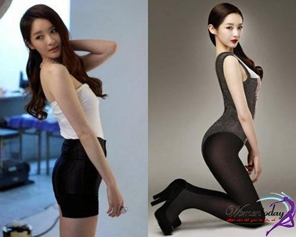 ang Minkyung của Davichi có vòng eo 60 cm và vòng 3 cỡ 93 cm. Là người đẹp có tỷ lệ cơ thể được hâm mộ nhất.