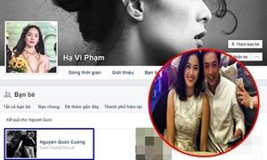 Cường Đô La - Hạ Vi kết bạn lại trên Facebook sau khi bị nghi chia tay