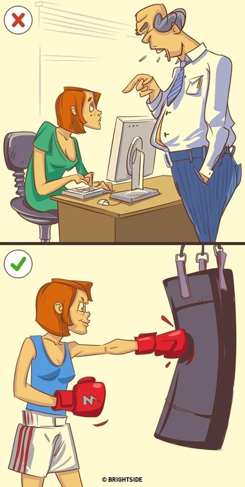 Đừng đè nén cảm xúc tiêu cực mà hãy giải tỏa chúng theo cách phù hợp hơn.