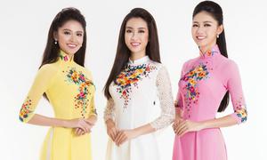 Bộ ảnh đầu tiên của Top 3 Hoa hậu Việt Nam sau đăng quang