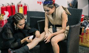 2 hot girl Next Top 'không đội trời chung' bỗng quay sang thắm thiết