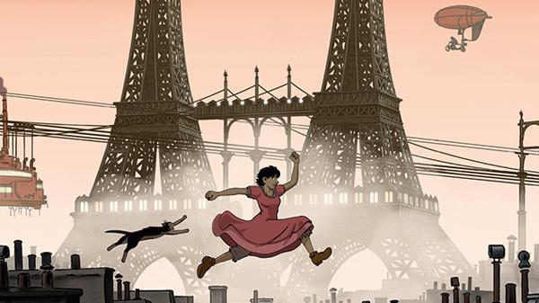 Lấy bối cảnh Paris giả tưởng với phong cách steampunk ấn tượng, phim kể về cô bé April với một cuộc tìm kiếm cha và mẹ của mình _ là những nhà khoa học đã bị mất tích bí ẩn.