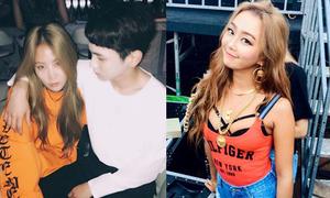 Sao Hàn 12/9: Hyo Rin lộ nội y táo bạo, Key ôm Soyu như đôi tình nhân
