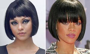 Cắt tóc mái ngố, Mai Ngô thành chị em với Rihanna