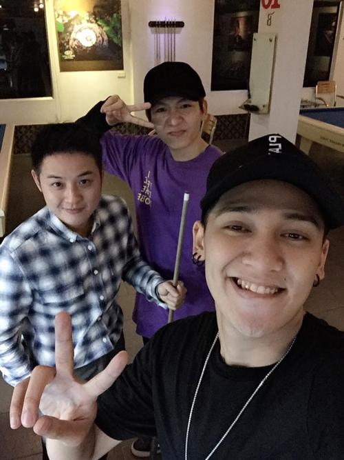 Cuộc vui chỉ có 3 người Thanh Duy idol, Kelvin Khánh, Tronie.